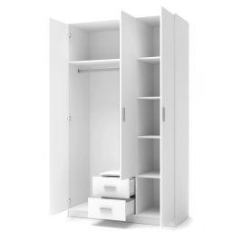 Šatní skříň LIMA S-3 Halmar Bílá