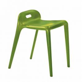 Taburet, zelená, GERTI 0000132433 Tempo Kondela