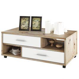 Konferenční stolek DESIRE dub artisan / bílá Tempo Kondela