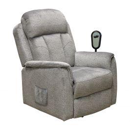 Relaxační křeslo COMFORT šedé