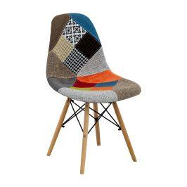 Jídelní židle UNO patchwork barevná