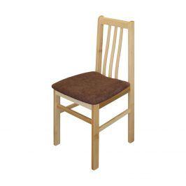 Jídelní židle MANDI buk/tmavě hnědá