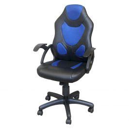 Kancelářské křeslo RACER BLUE K132