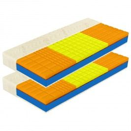 Matrace s potahem IDEA ROMANTIKA PLUS 20 90x200x20 Akce 1+1 ZDARMA