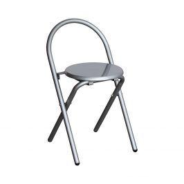 Skládací židle alu/šedá Židle do jídelny