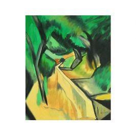 Obraz - Zelený pavouk