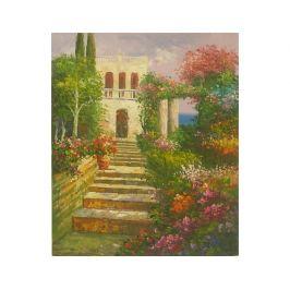 Obraz - Schody do zámku