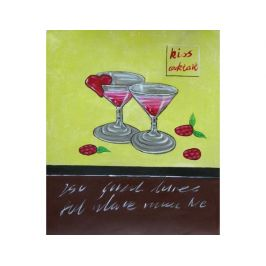 Obraz - Skleničky s jahodami