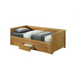 Rozkládací postel Sopier, dub