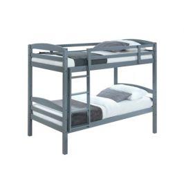 Patrová postel Fogi, šedá