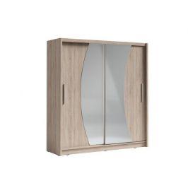 Skříň s posuvnými dveřmi Palcos 2, dub sonoma
