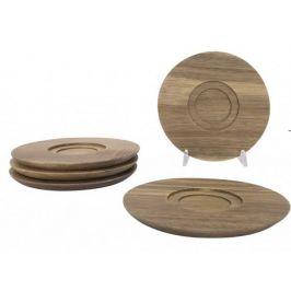 Dřevěný podšálek Pipe