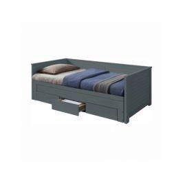 Rozkládací postel Sopier, šedá