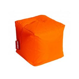 Sedací vak cube fluo orange