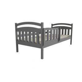Dětská postel DP 001 šedá, 90x200 cm