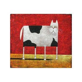 Obraz - Abstraktní kočka