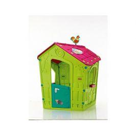 Dětský plastový domeček MAGIC PLAY HOUSE, zelený