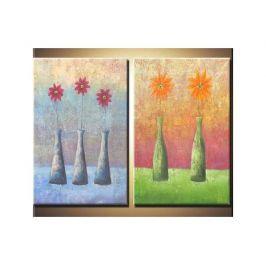 Vícedílné obrazy - Vázy