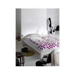 Deka Puntík bílá-růžová 9346