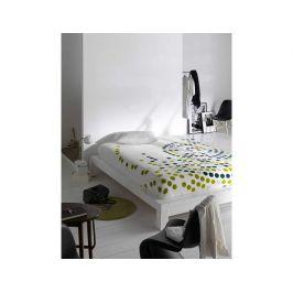 Deka Puntík bílá-zelená 9346