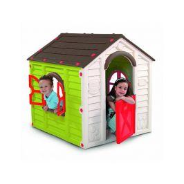 Dětský plastový domeček Rancho Play House, zelený
