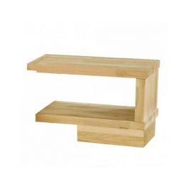 Masivní noční stolek Alba, zvýšený