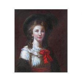 Obraz - Dívka s kloboukem