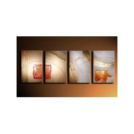 Vícedílné obrazy - Zlatá záře