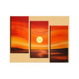 Obrazový set - Zvlněný západ slunce