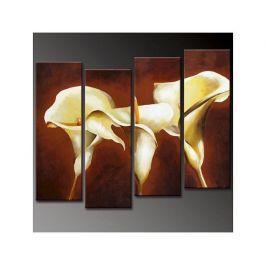 Vícedílné obrazy - Zlaté kaly