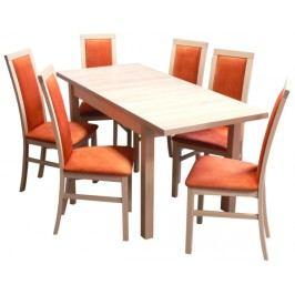 Rozkládací jídelní stůl, typ RRS