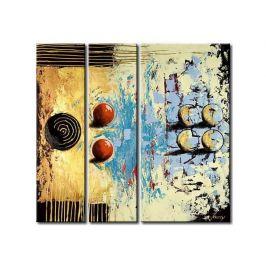 Vícedílné obrazy - Abstraktní hra