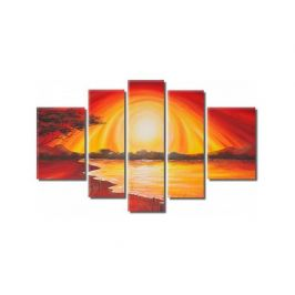 Obrazový set - Pláž