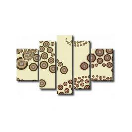 Obrazový set - Kávové bublinky