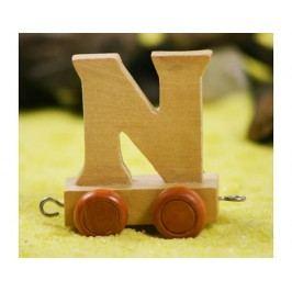 Vagónek N, hnědá kolečka