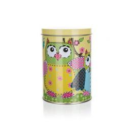 BANQUET Plechovka OWLS ROUND SMALL 7,5 x 11 cm