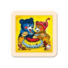 Puzzle, Baribal s dortem