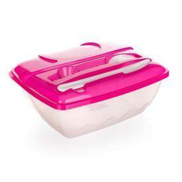 BANQUET Jídelní sada plastová 2,1 L BANQUET, obsahuje box+plastové příbory