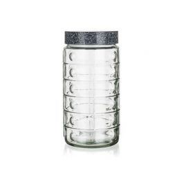 BANQUET Dóza skleněná GRANITE 1,7 l