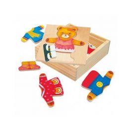 Šatní skříň medvědice, puzzle