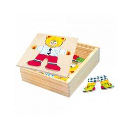 Šatní skříň medvídek, puzzle