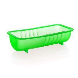 BANQUET Silikonový srnčí hřbet 26x13x6,5 cm Culinaria - green