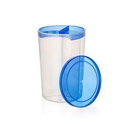 BANQUET Dóza plastová dělená 3 v 1