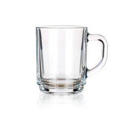 BANQUET Sada skleněných hrnků CENTA 250 ml, 6 ks