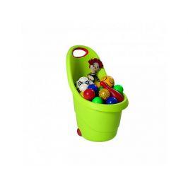Dětský plastový vozíček Kiddies Go zelený
