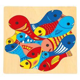 Rybičky s udičkou, puzzle