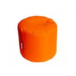 Oranžový sedací vak BeanBag Roller