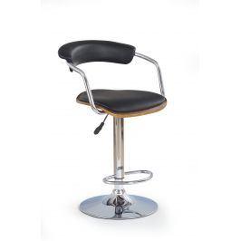 Barová židle H-19, černá
