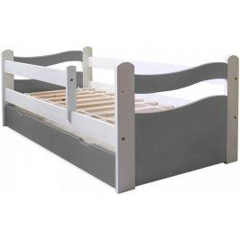 Dětská postel VLNA GRAY