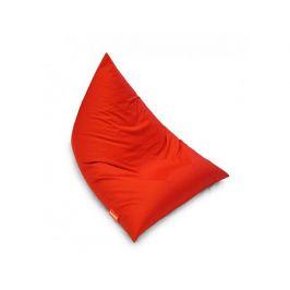 Červený sedací vak BeanBag Triangle scarlet rose